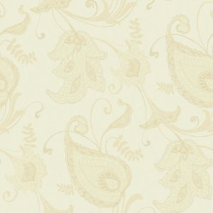 Papel de Parede Flores Marfim - HD1823