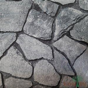 Papel de Parede Grace Ladrinho Pedras - 3G201902R