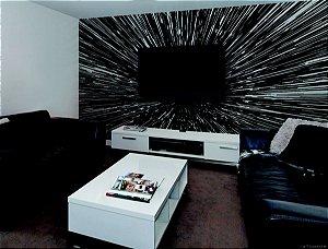 Papel de Parede Mural Star Wars Galáxia - RMK11412M