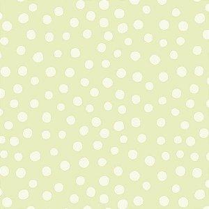 Papel de parede Nido Infantil 8704-2 Bolas Verde Claro