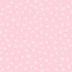 Papel de parede Nido Infantil 8704-3 Bolas Rosa Claro
