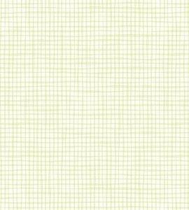 Papel de parede Nido Infantil 8702-2 Xadrez Verde Claro
