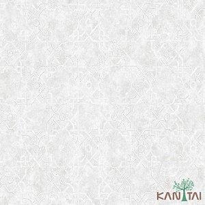 Papel de Parede Vision Branco e cinza - VI800201R