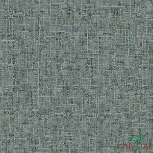 Papel de Parede Vision Folhas Verde e Cinza - VI800504R