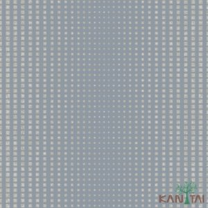 Papel de Parede Vision Cubos Prata - VI800703R