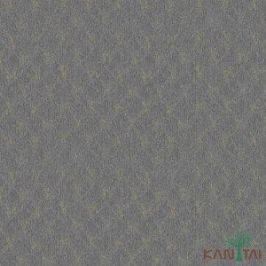 Papel de Parede Vision Losango Chumbo Com Bege - VI801304K