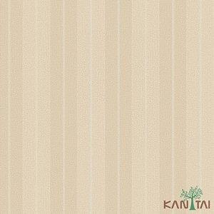Papel de Parede Vision Listrado Bege e Areia - VI801701K