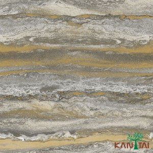 Papel de Parede Glamour Areia  Cinza e Caramelo - GL922535R