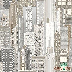 Papel de Parede Glamour City Amanhecer - GL922521R