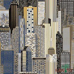 Papel de Parede Glamour City Noturna - GL922524R
