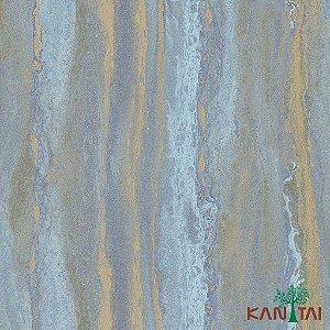 Papel de Parede Glamour Areia  Azul e Caramelo - GL922534R