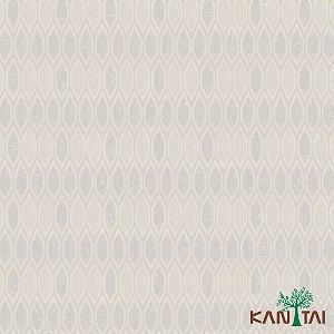 Papel de Parede Glamour Areia  Forma Geométrico Off White e Cinza - GL922542R
