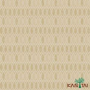 Papel de Parede Glamour Areia  Forma Geométrica Areia - GL922545R