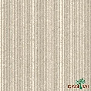 Papel de Parede Glamour Listras Palha e Dourado - GL922583R