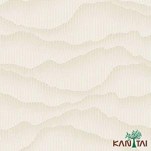 Papel de Parede Glamour Ondas Marfim - GL922685R