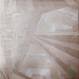 Papel de Parede Sydney 2 Abstrato Marrom  - SY24030R