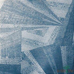 Papel De Parede Sydney 2, Formas Abstrata Azul cimento - SY124040R