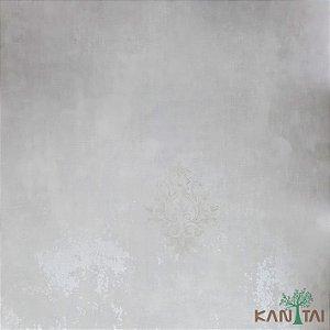 Papel De Parede Sydney 2, Marca D'Água Arabesco Cinza Cimento - SY125030R