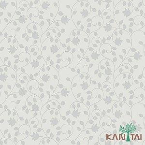 Papel de Parede Element 3 Cinza Floral Chumbo - 3E303602R
