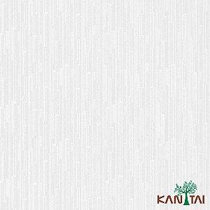 Papel de Parede Metropolis 2 Tiras Marfim Com Fundo Branco - MT781502R