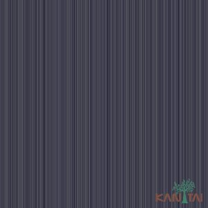 Papel de Parede Metropolis 2 Azul Marinho Com Listras - MT781602R