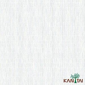 Papel de Parede Milan Aspecto Rede Branco Traços Azul e Bege - ML981201R