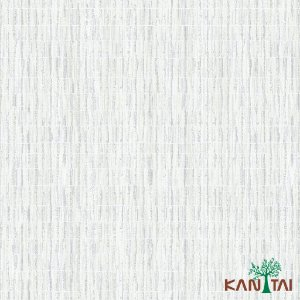 Papel de Parede Milan Aspecto Rede Branco Traços Cinza e Bege - ML981203R