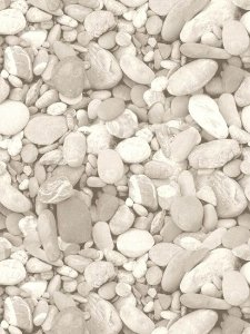 Papel de parede Pedras Redonda Jardim Com Glitter - J996-09