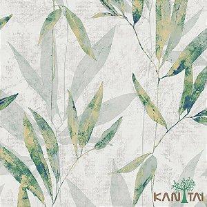 Papel de Parede Milan 2 Folhas Verde, Bege e Cinza - ML982302R