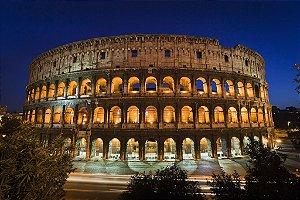 Painel fotográfico Coliseu Importado e Vinílico com 3,15 metros x 2,32 metros