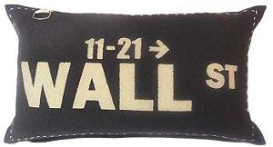 Capa para almofada Wall St  50 x 30 cm, 100% Algodão