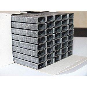 Grampo INOX 80/06 caixa com 750 grampos, não enferruja