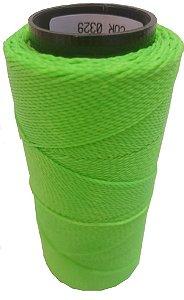 Fio Cordone Encerado Nº 4 - Verde  NEON