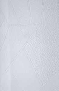 Tecido courvin costurado Branco - 02