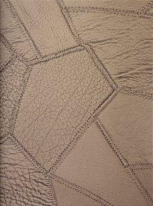 Tecido courvin costurado Ocre - 04