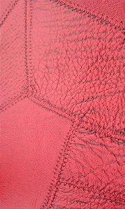Tecido courvin costurado Vermelho - 06