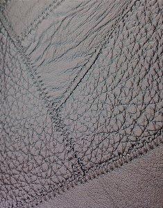 Tecido courvin costurado Marrom - 11