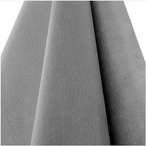 Tecido TNT Cinza liso gramatura 40 - Pacote 100 metros