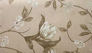 Tecido algodão impermeabilizado Areia Floral Sev 15