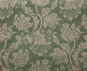 Tecido algodão impermeabilizado Linhão Floral Verde Sev 28