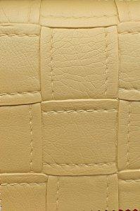 Tecido courvin estilo costurado Bege - Jade02