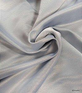 Tecido Para Cortinas Semi Blecaute Estilo Linho Capri Tramas Gelo 2,80 de Largura - 1Metro
