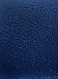 Tecido Courvin Rajado Estilo Couro Azul - Brescia 15