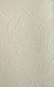 Tecido courvin Floral Creme com Leve Brilho - Vivace 02