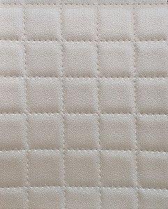 Tecido courvin estilo perfurado leve brilho Perola - Cristal 01