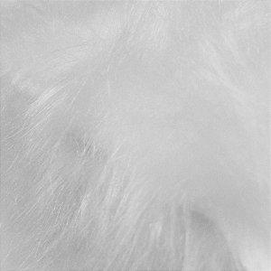 Tecido Pelúcia Pelo Médio Macio 33mm 1,00x1,50 Branco