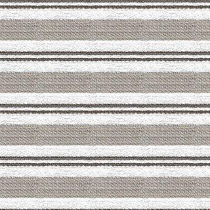 Tecido para Sofá e Estofado Chenille Viscose Listrado Branco - Largura 1,37m - COL-06