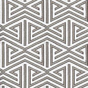 Tecido para Sofá e Estofado Chenille Viscose Triângulo Branco - Largura 1,37m - COL-11