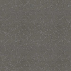 Tecido para Sofá e Estofado Chenille Viscose Geométrico Cinza - Largura 1,37m - COL-15