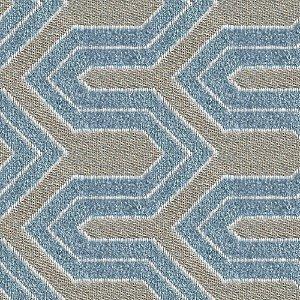 Tecido para Sofá e Estofado Chenille Viscose Misso Azul - Largura 1,37m - COL-22